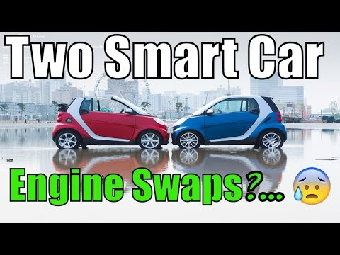 2 Smart Car Fortwo Engine Replacements on a 451 CDI engine, How to do it fast?