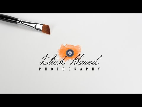 Photoshop Tutorial: How to make Photography Logo | Photoshop CC 2017