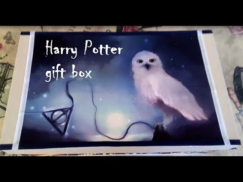 Harry Potter themed gift box