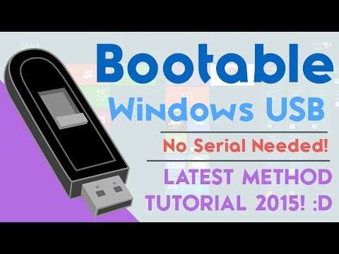 How to Create a Windows 8.1 Bootable USB - FREE NO SERIAL NUMBER
