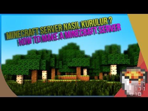 Minecraft Server Nasıl Kurulur ? | How To Make A Minecraft Server | 1.7.x 1.8x |Hazır Server İndir
