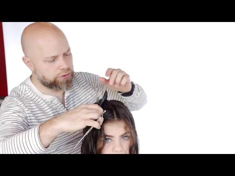 Medium Length Curly Haircut Step by Step - TheSalonGuy