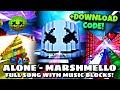 """Marshmello - Alone"" full song with Fortnite creative music blocks! (download code: 9887-5504-3095)"