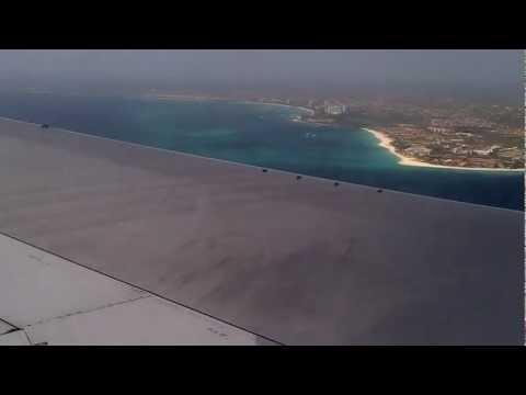 First Choice Boeing 767 Landing in Aruba