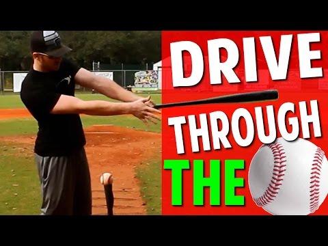 Baseball Hitting Drill More Bat Speed | Staying Through the Ball (Pro Speed Baseball)