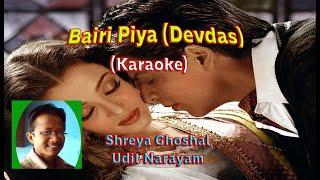 Bairi Piya_Karaoke (Shreya Ghoshal)