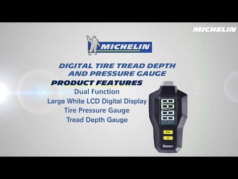 MICHELIN Digital Tire Tread Depth and Pressure Gauge