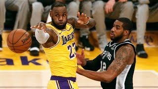 LeBron James Named Lakers Starting PG (Best Passes from Last 5 Years)