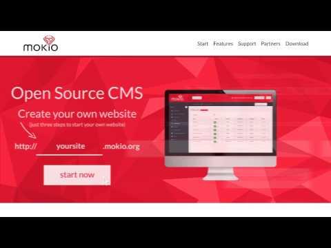 Mokio - Open Source CMS