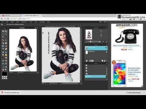 How I Make My Wattpad Covers! Using Pixlr {2015}