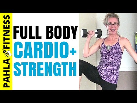 STRENGTH Sammich 🍔 BRUTAL 50 Minute Full Body CARDIO HIIT + DUMBBELL STRENGTH Advanced Workout