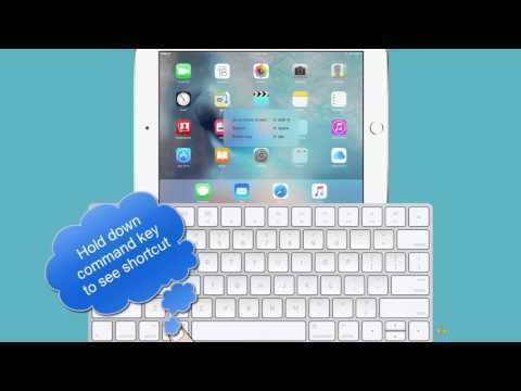 How to Connect the Magic Keyboard to your iPad ?