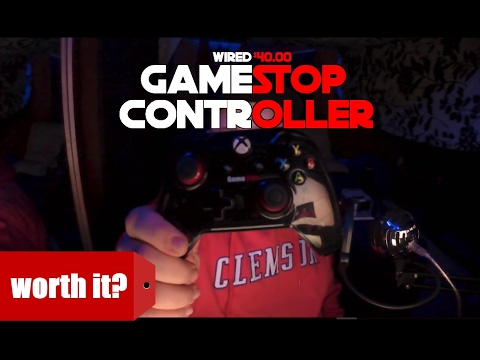 PDP's wired gamestop controller unboxing and review
