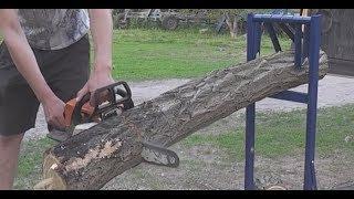 Сделай себе простое приспособление для заготовкы дров !!!