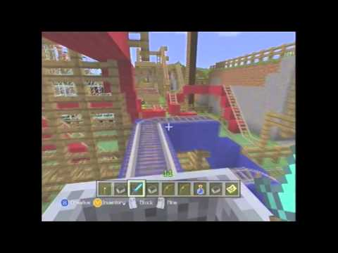 *HUGE* Minecraft Amusement Park (Xbox 360)