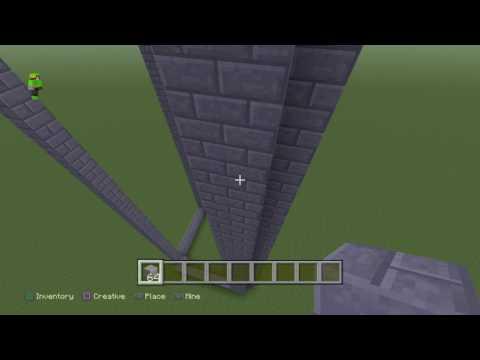 Minecraft:PS4:Building Hogwarts:part 1.
