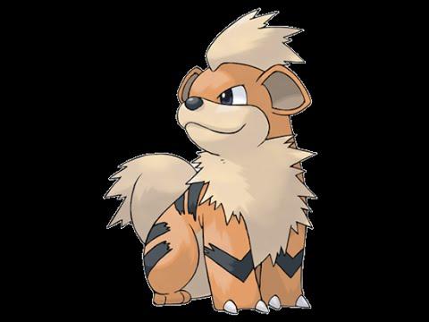 Pokémon Red - All 151: Growlithe