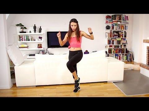 Latin Dance Basic Moves - 15 Minuten Programm mit Amiena Zylla