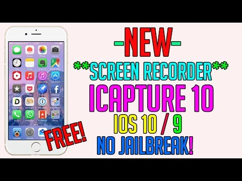 How To: Record Your iPhone Screen for FREE iOS 10/9 (NO COMPUTER) (Without AIRSHOU) *NEW* 2017