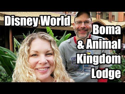 Boma Breakfast Buffet & a Tour of Animal Kingdom Lodge! Walt Disney World, January 2018, Day 3!