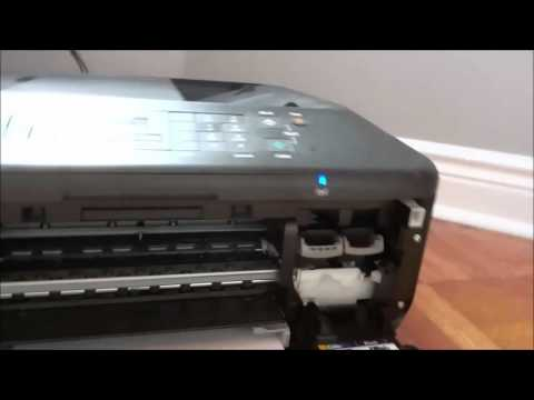 How To Replace An Ink Cartridge On A Canon Pixma MX452 Printer