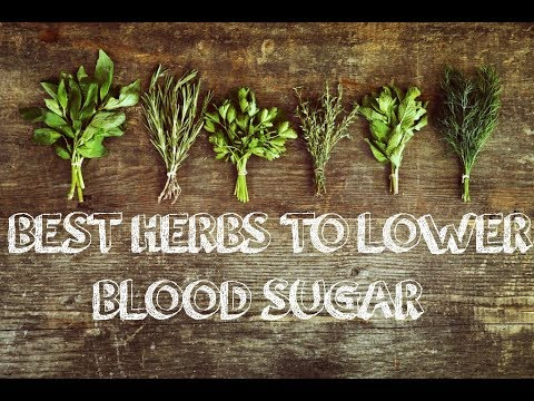 9 Amazing Herbs That Lower Blood Sugar