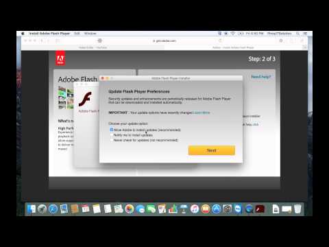 How to get and install Adobe Flash Player on your MAC OS X device