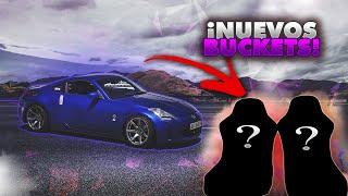 ¡NUEVOS BUCKETS PARA EL NISSAN 350Z! 😍 | URY G