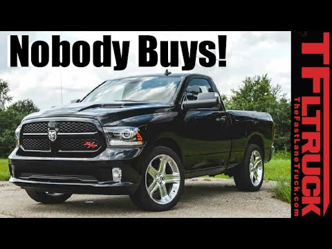 Top 5 Great Trucks Nobody Buys:  Surprising Overlooked Pickup Truck Gems