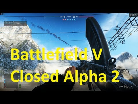 Battlefield 5 Closed Alpha 2 ✅ Gameplay and Benchmark