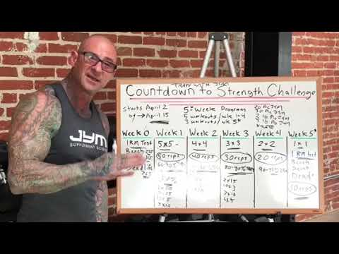 Countdown To Strength Challenge Tip: Do ALL reps!