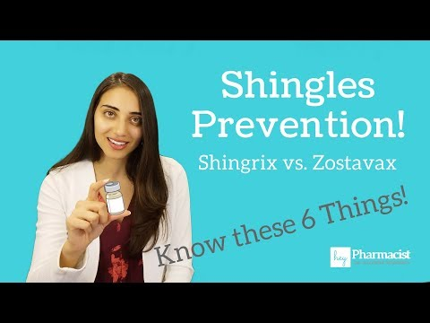 Shringrix, the Shingles vaccine - 6 Things to Know (and vs. Zostavax)!