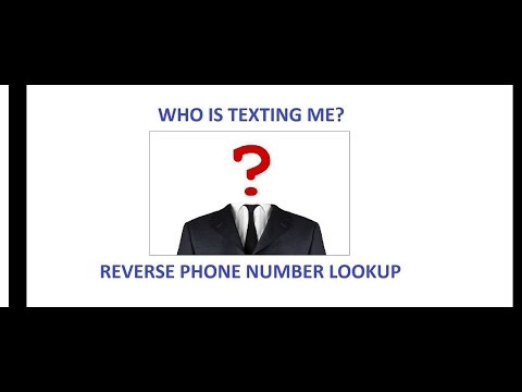 Reverse Phone Number lookup for Free - Great for Craigslist Deals
