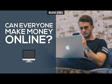 CAN YOU MAKE MONEY ONLINE?