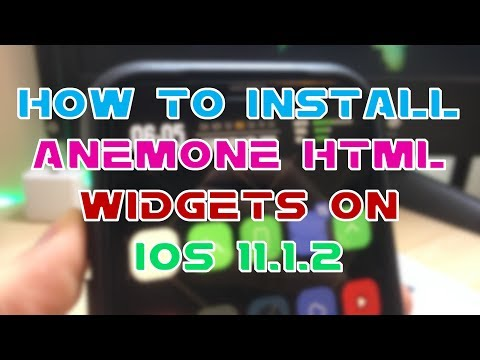 How to Install Widgets on iOS 11-11.1.2 Jailbreak
