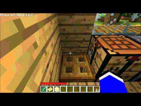 How To Make Trap Doors In Minecraft 1.6.4
