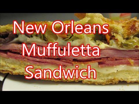 Italian Muffuletta sandwich recipe