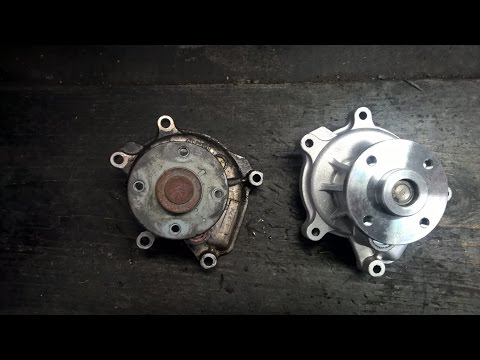 How to replace a water pump in a Toyota Yaris