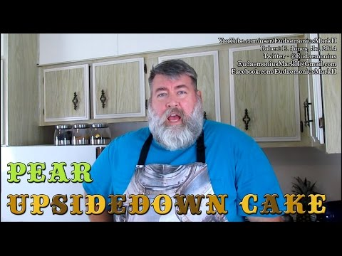 How to make PEAR UPSIDEDOWN CAKE - Day 16,430