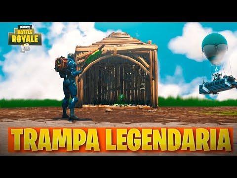 LA TRAMPA PERFECTA! FORTNITE: Battle Royale