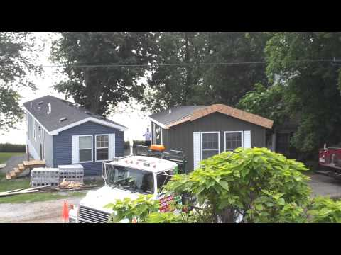 Moving a park model home2
