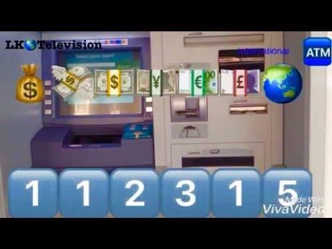 ATM master hacking code worldwide