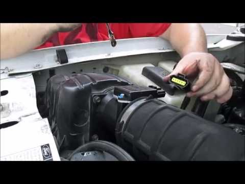 How To Replace A Mass Air Flow Sensor (MAF)