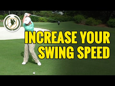HOW TO INCREASE YOUR GOLF SWING SPEED! - ADD MORE CLUBHEAD SPEED!