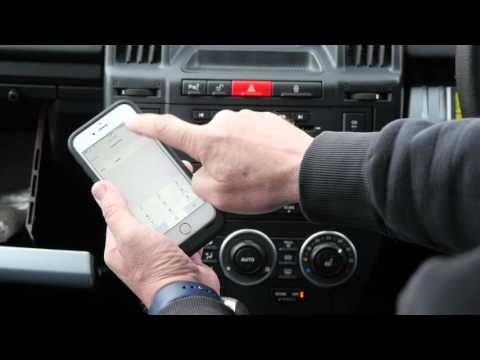 How to pair and debond your iphone to the bluetooth system in a 2006 Landrover Freelander 2