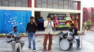 sahil roshan singing on Teachers day 2007 batch