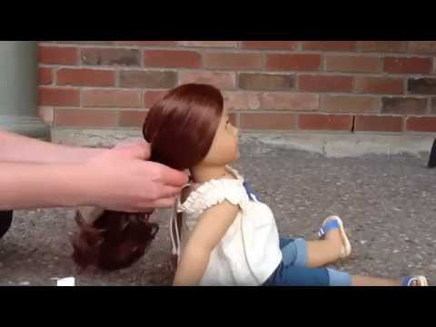 Three Beginner Hairstyles For Your American Girl Dolls!