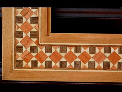 Picture Frame - Cosmati Wood Inlay