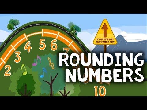 Rounding Numbers Song: Nearest 10 & 100 - NUMBEROCK