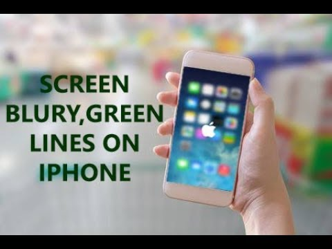 Fixed: Screen Blurry, Green Lines on iPhone